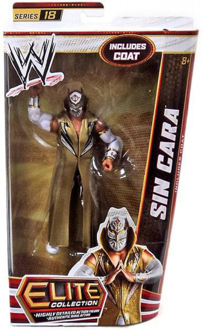WWE Wrestling Elite Collection Series 18 Sin Cara Action Figure [Coat]