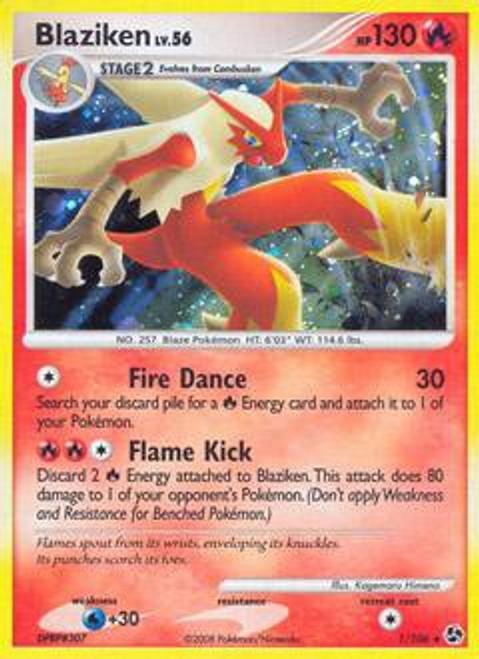 Pokemon Diamond & Pearl Great Encounters Rare Blaziken #1