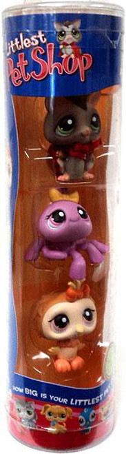 Littlest Pet Shop Halloween Sugar Glider, Spider & Owl Figure 3-Pack
