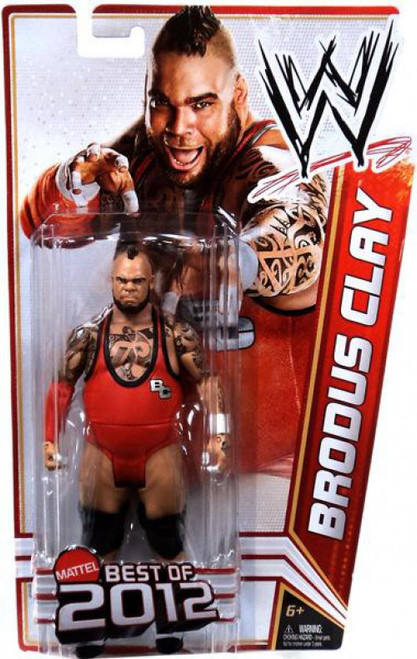 WWE Small Action Figure Set Mattel 2013 Brodus Clay