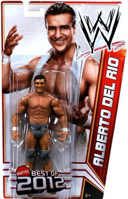 WWE Wrestling Best of 2012 Alberto Del Rio Action Figure