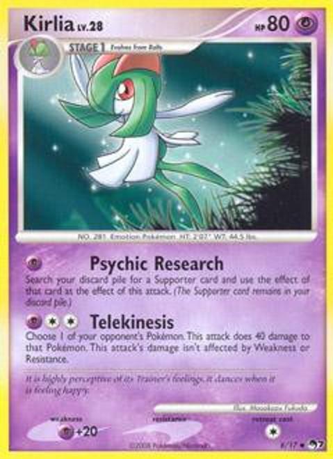 Pokemon Trading Card Game Organized Play Series 7 Uncommon Kirlia #8