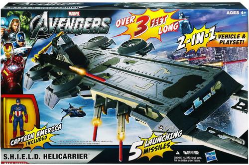 Marvel Avengers S.H.I.E.L.D. HELICARRIER Action Figure Vehicle
