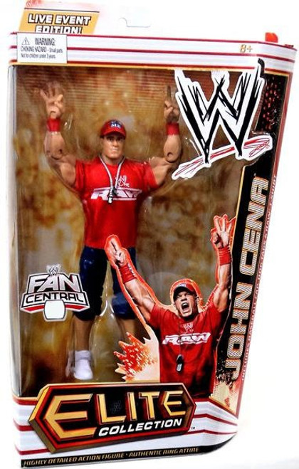 WWE Wrestling Elite Collection Fan Central John Cena Exclusive Action Figure