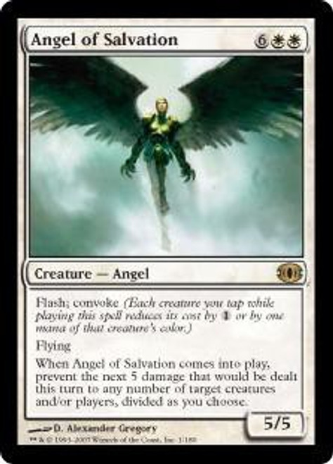 MtG Future Sight Rare Angel of Salvation #1