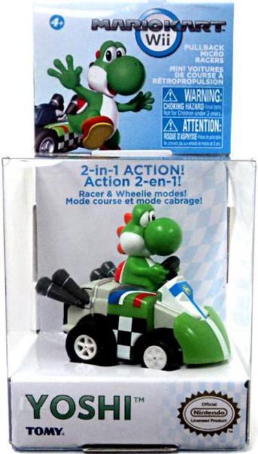 Super Mario Mario Kart Yoshi Pull Back Racer
