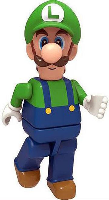 K'NEX Super Mario Luigi 2-Inch Minifigure [Loose]