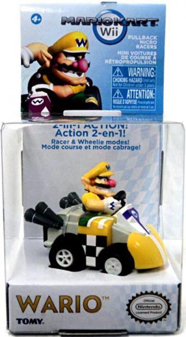 Super Mario Mario Kart Wario Pull Back Racer