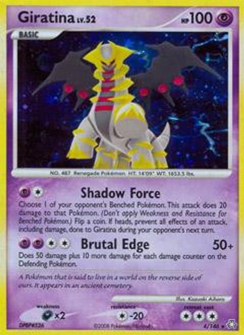 Pokemon Diamond & Pearl Legends Awakened Rare Giratina #4