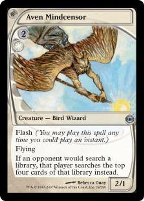 MtG Future Sight Uncommon Aven Mindcensor #18