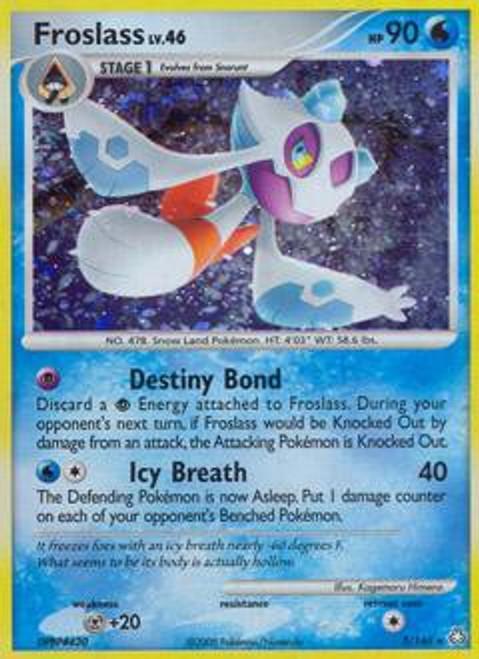 Pokemon Diamond & Pearl Legends Awakened Rare Froslass #3