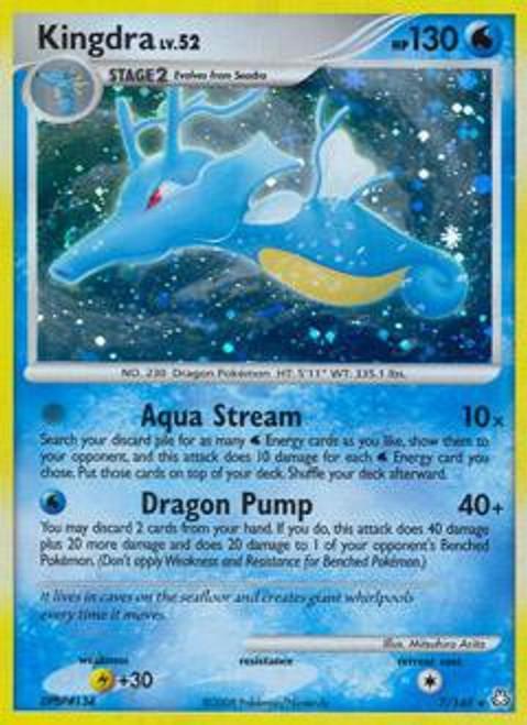 Pokemon Diamond & Pearl Legends Awakened Rare Kingdra #7