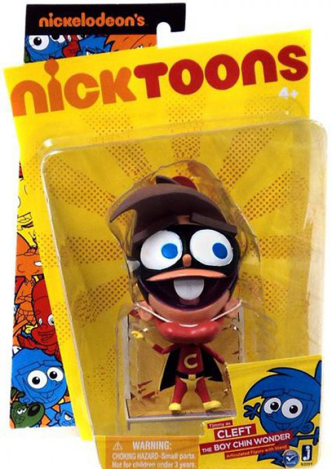 NickToons Timmy Cleft Action Figure [The Boy Chin Wonder]