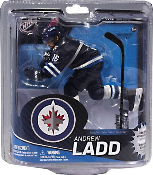 McFarlane Toys NHL Winnipeg Jets Sports Picks Series 31 Andrew Ladd Action Figure [Blue Jersey]