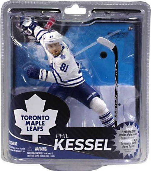 McFarlane Toys NHL Toronto Maple Leafs Sports Picks Series 31 Phil Kessel Action Figure [White Jersey]