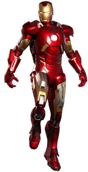 Marvel Avengers Movie Masterpiece Iron Man Mark VII Collectible Figure