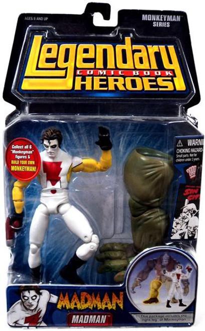 Marvel Legendary Heroes Monkeyman Series Madman Action Figure