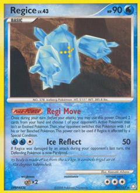 Pokemon Diamond & Pearl Legends Awakened Rare Regice #36
