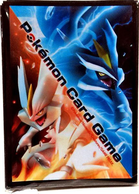 Pokemon Black & White Freeze Bolt & Cold Flare Kyurem Standard Card Sleeves [32 Count]