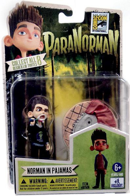 ParaNorman Norman In Pajamas Exclusive 4-Inch Mini Figure