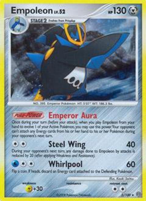 Pokemon Diamond & Pearl Stormfront Rare Empoleon #2