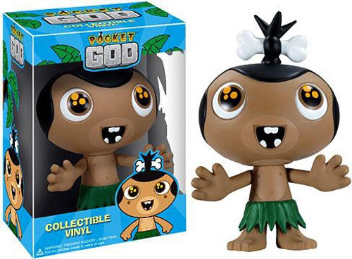 Funko Pocket God POP! Games Cute Double Rainbow Pygmy Vinyl Figure