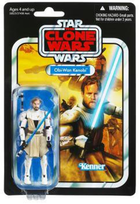 Star Wars The Clone Wars 2012 Vintage Collection Obi-Wan Kenobi Action Figure #103