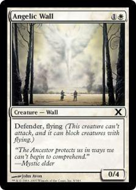 MtG 10th Edition Common Angelic Wall #5