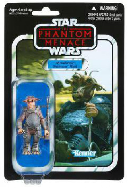 Star Wars Phantom Menace 2012 Vintage Collection Mawhonic Action Figure #71 [Podracer Pilot]