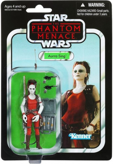 Star Wars Phantom Menace 2012 Vintage Collection Aurra Sing Action Figure #73