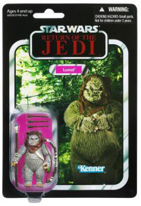 Star Wars Return of the Jedi 2012 Vintage Collection Lumat Action Figure #104 [Ewok]