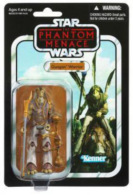 Star Wars Phantom Menace 2012 Vintage Collection Gungan Warrior Action Figure #74 [Phantom Menace]