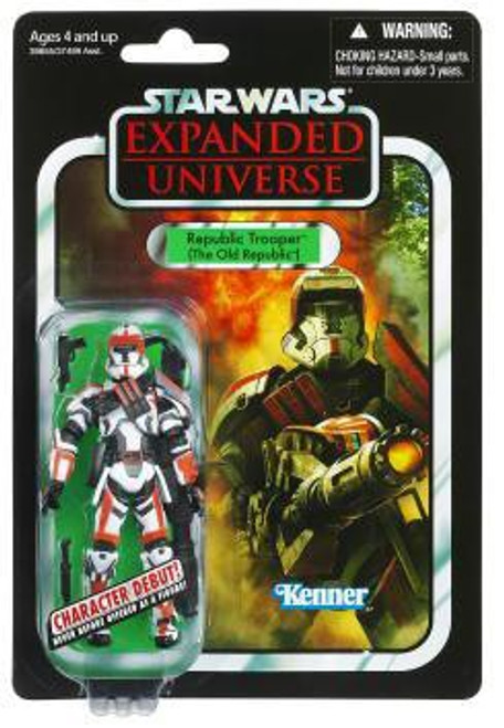 Star Wars Expanded Universe 2012 Vintage Collection Republic Trooper Action Figure #113 [The Old Republic]