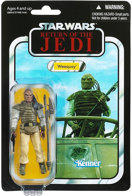 Star Wars Return of the Jedi 2012 Vintage Collection Weequay Action Figure #107