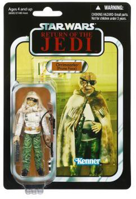 Star Wars Return of the Jedi 2012 Vintage Collection Orrimaarko Action Figure #114 [Prune Face]