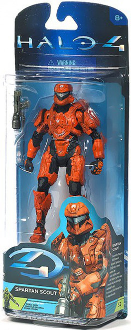 McFarlane Toys Halo 4 Series 2 Spartan Scout Action Figure [Rust]