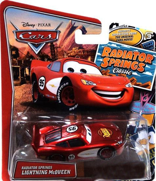 Disney / Pixar Cars Radiator Springs Classic Radiator Springs Lightning McQueen Exclusive Diecast Car