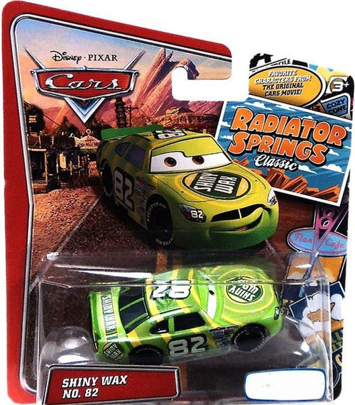 Disney / Pixar Cars Radiator Springs Classic Shiny Wax No. 82 Exclusive Diecast Car