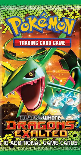 Pokemon Trading Card Game Black & White Dragons Exalted Booster Pack [10 Cards]