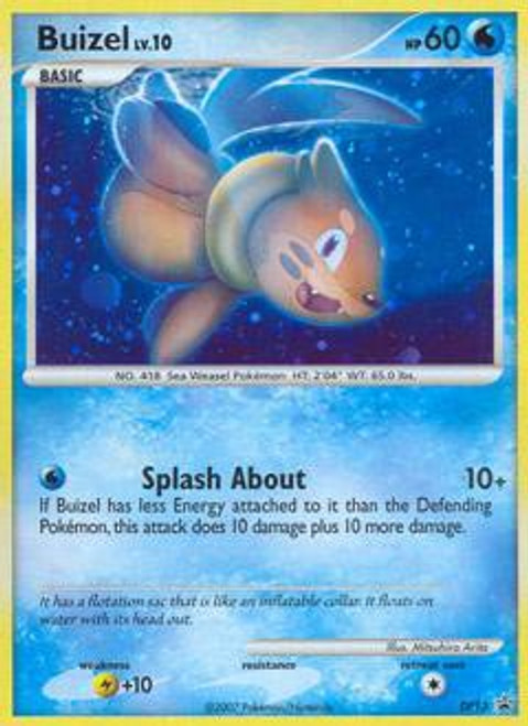 Pokemon Diamond & Pearl Promo Rare Holo Buizel DP13