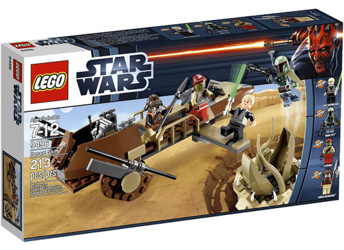 LEGO Star Wars Return of the Jedi Desert Skiff Set #9496
