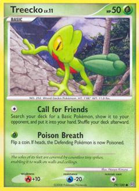 Pokemon Diamond & Pearl Stormfront Common Treecko #79