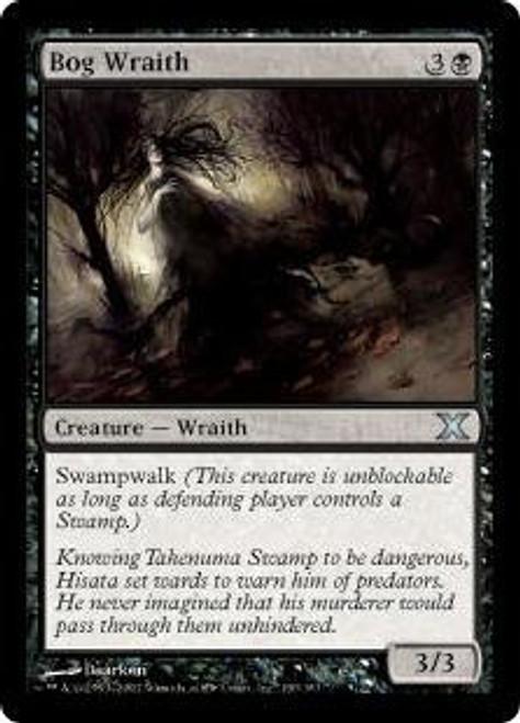 MtG 10th Edition Uncommon Bog Wraith #130