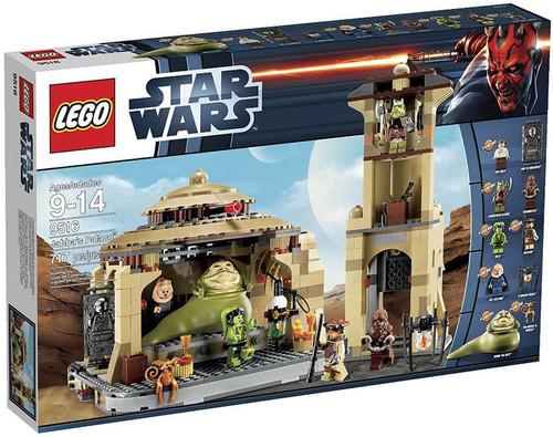 LEGO Star Wars Return of the Jedi Jabba's Palace Set #9516