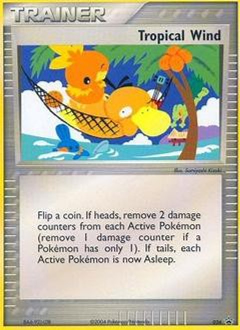 Pokemon Trading Card Game Promo Cards Promo Tropical Wind #26