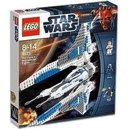 LEGO Star Wars The Clone Wars Pre Vizsla's Mandalorian Fighter Set #9525