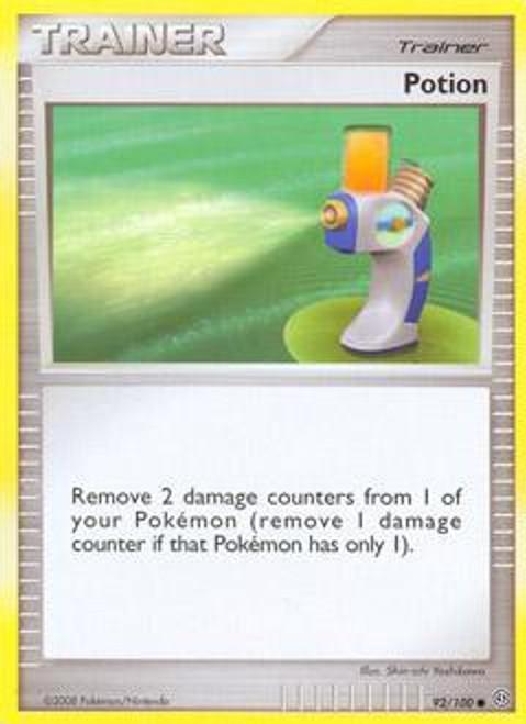 Pokemon Diamond & Pearl Stormfront Common Potion #92