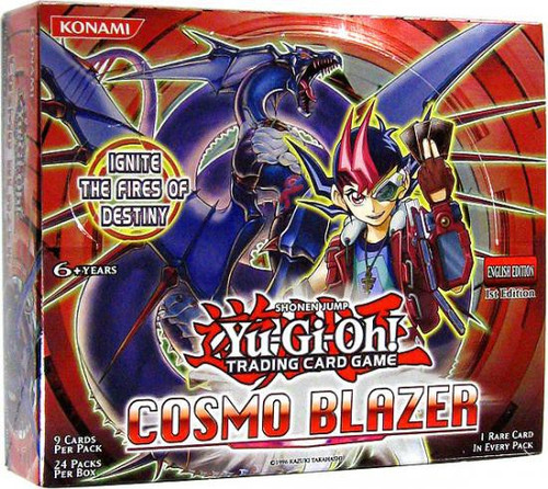 YuGiOh Trading Card Game Cosmo Blazer (1st Edition) Booster Box [24 Packs]