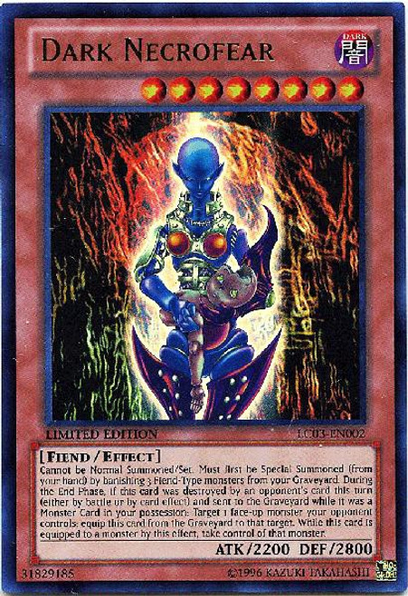 YuGiOh Legendary Collection 3 Ultra Rare Dark Necrofear LC03-EN002