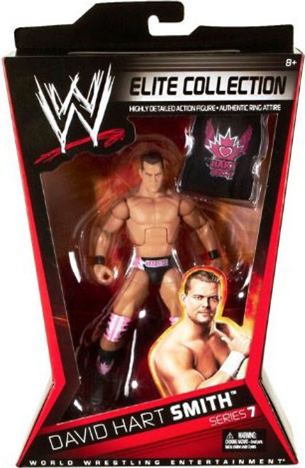 WWE Wrestling Elite Collection Series 7 David Hart Smith Action Figure